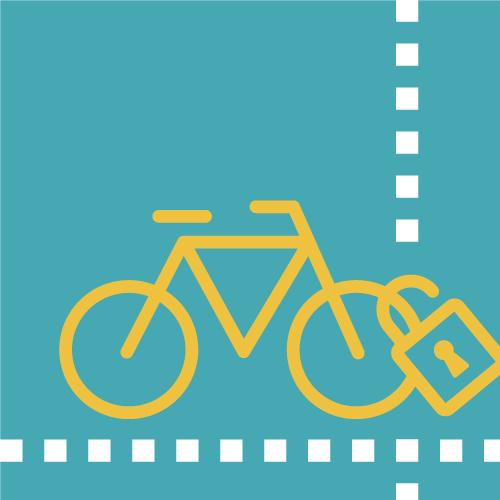 Bicicleta amb candau
