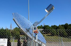 Captador solar dish-stirling
