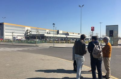 Technical visit to Barcelona airport