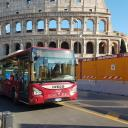 Image of a bus in Rome