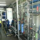 Interior view of the water purification facilities